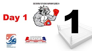 EUBC European Youth Boxing Championships - Zagreb 2014 - Day 1