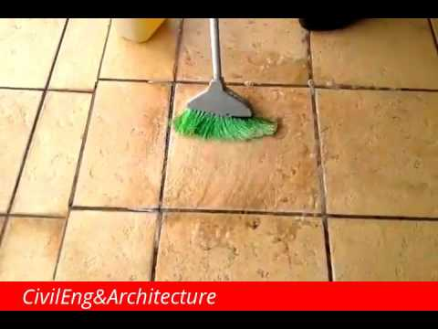 Amazing Chemical Cleaner For Floor Tiles Youtube