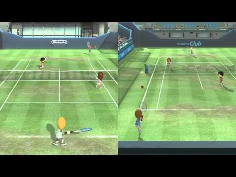 Wii Sports Club - Tennis! - W/Tanner