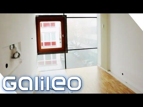 Einrichten eXtrem - Schmalstes Haus | Galileo | ProSieben