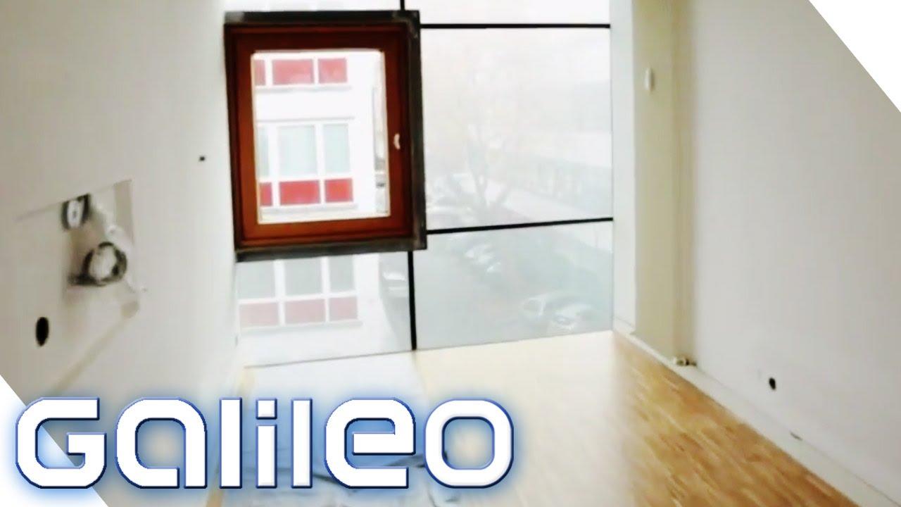 Einrichten EXtrem   Schmalstes Haus | Galileo | ProSieben   YouTube
