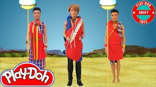 Play Doh  One Direction - Steal My Girl (Niall Horan) Inspired Costume Ken (Dolls)