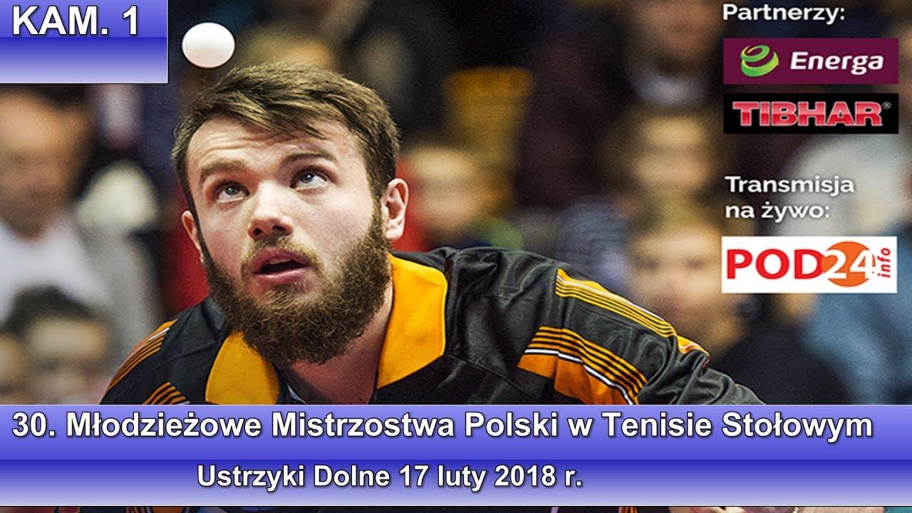 30. Młodzieżowe Mistrzostwa Polski w Tenisie Stołowym