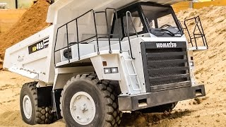 RC Dump Truck SPECIAL! Amazing realistic R/C Trucks working hard!
