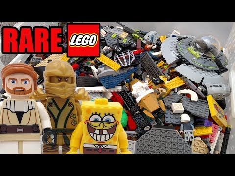 Thumbnail: Huge Container of Mystery LEGO! Rare Minifigures and Bricks!