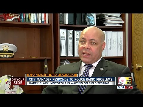 Cincinnati city manager responds to police radio problems