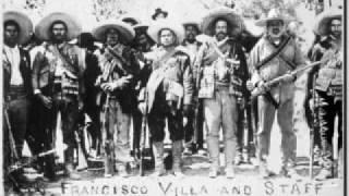 Generales Villistas y los Dorados; General Villistas and the Dorados