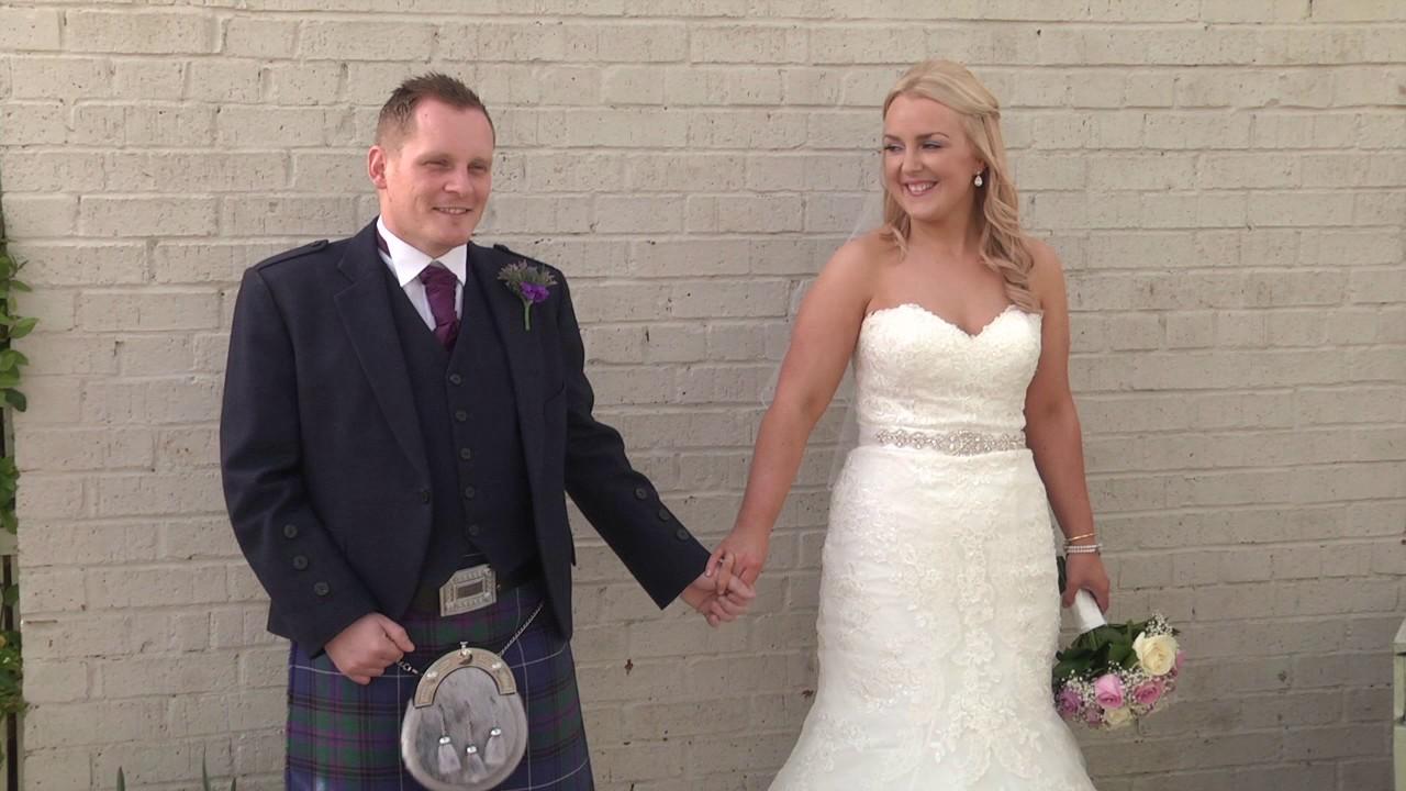 Stuart Kate S Wedding Highlights St Francis Xavier The Three Kings Falkirk