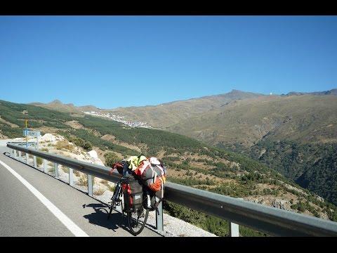 Best of Pico Veleta (3394 m) compilation- cycling / bringatúra - Highest paved road of Europe