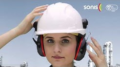 Sonis® Helmet mounted ear defenders - How to fit to your safety helmet