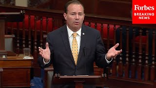 Mike Lee Attacks Bipartisan Infrastructure Bill In Mammoth Senate Speech Right After Draft Released