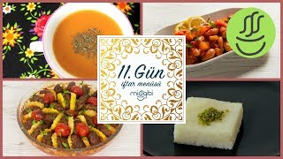 Ramazan 11. Gün İftar Menüsü: Fırında Köfte Patates - Tarhana - Barbunya Pilaki - İrmik Tatlısı