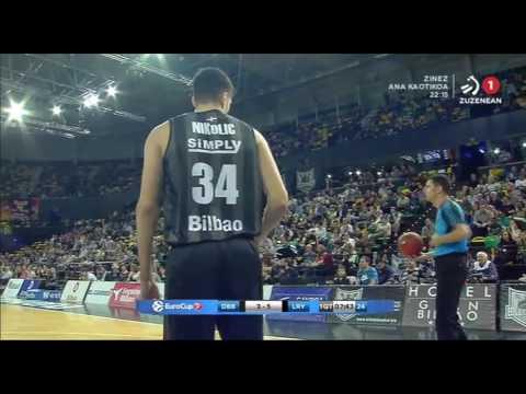 2016-10-26; Temporada regular, jornada 3; Bilbao Basket 80 - Lietuvos Rytas Vilnius 76
