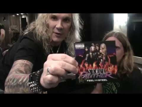 Michael Starr Interview 2015 - Steel Panther in Halifax