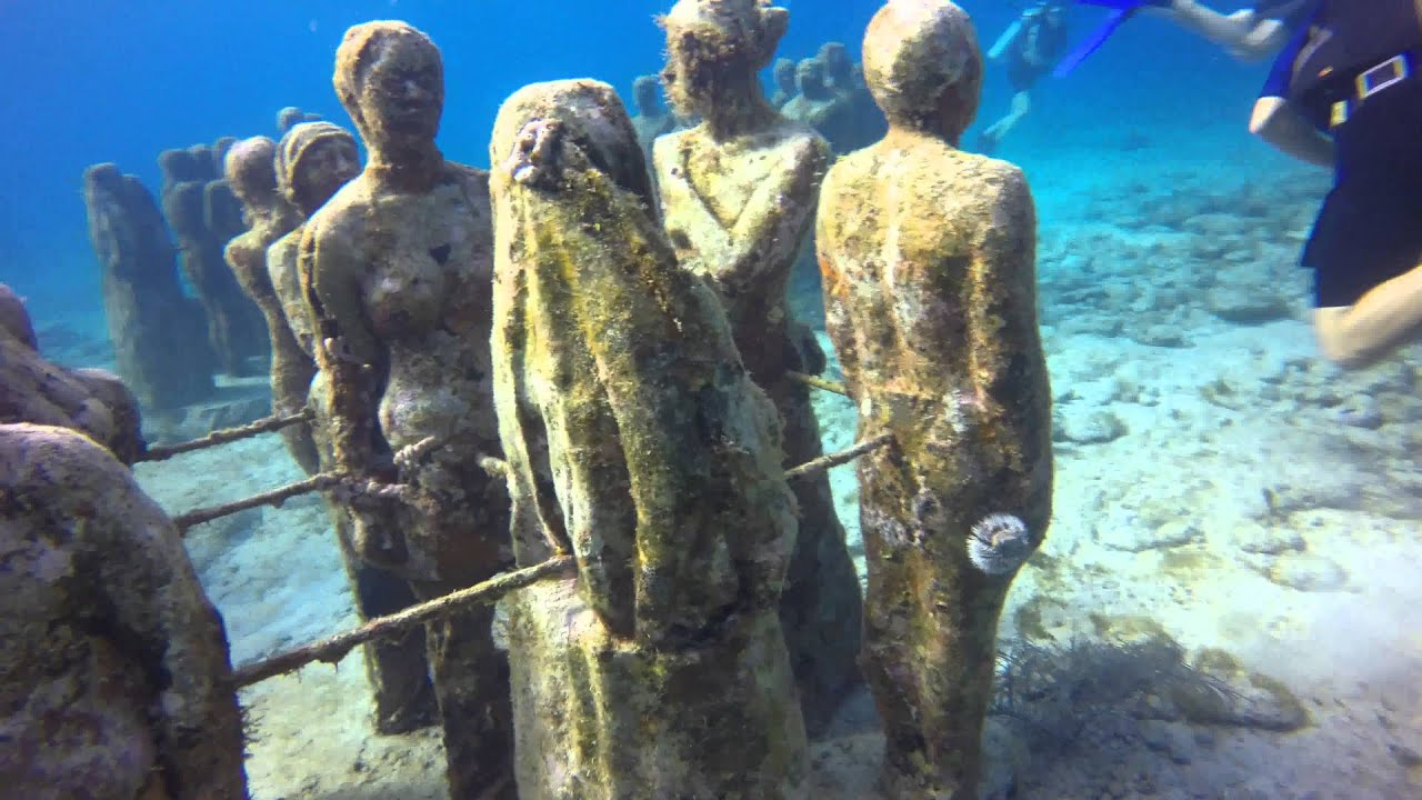 The Cancun Underwater Museum Musa Doovi