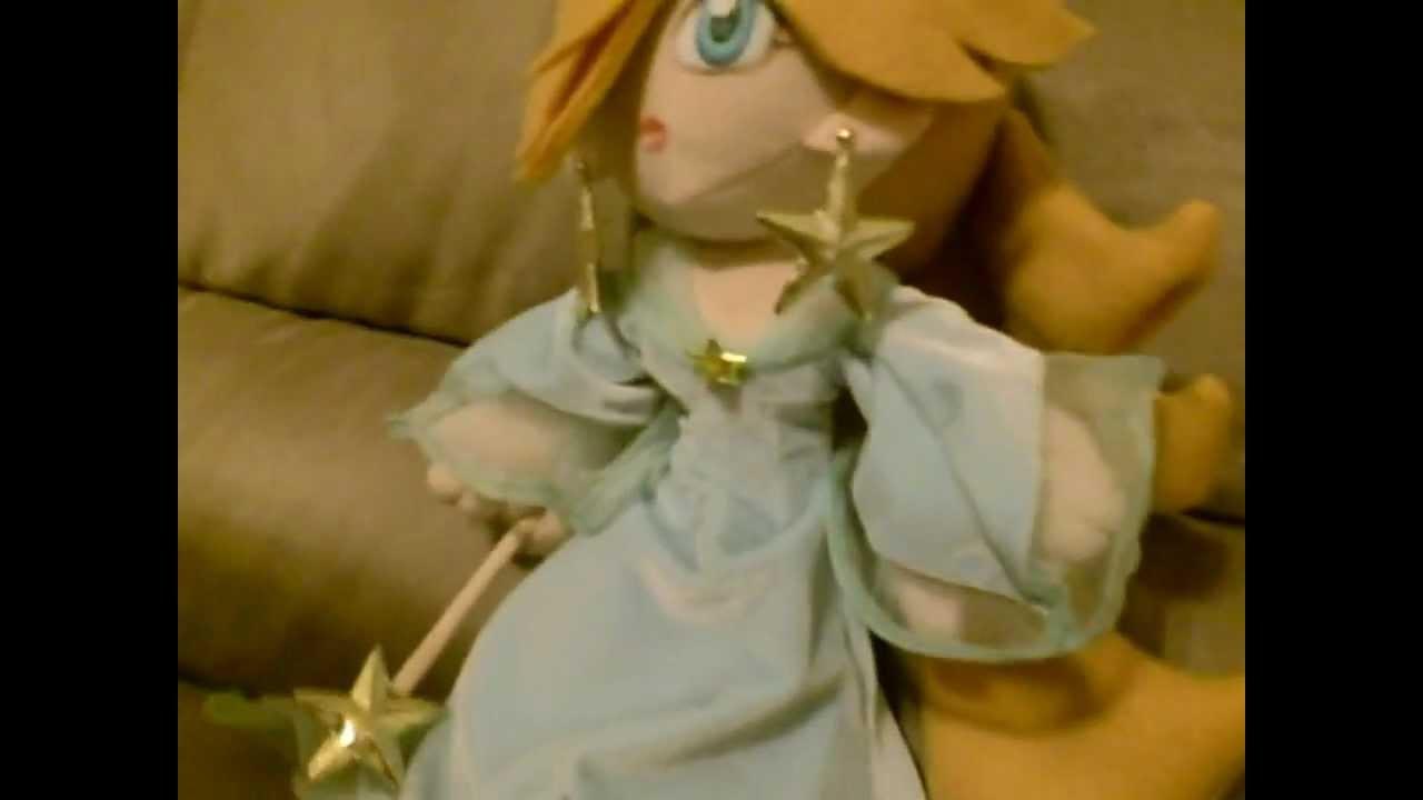 Princess Rosalina Plush Doll Home Made Youtube
