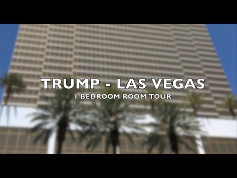 Trump - Las Vegas - One bedroom suite tour - Room 5306