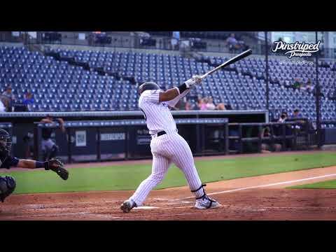 Jasson Dominguez, Outfielder, Tampa Tarpons, July 15, 2021