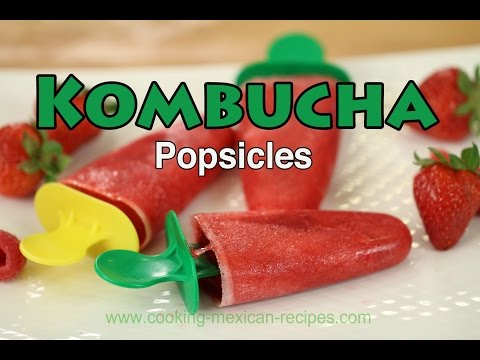 Kombucha Popsicles Made With Real Fruit | Rockin Robin Cooks