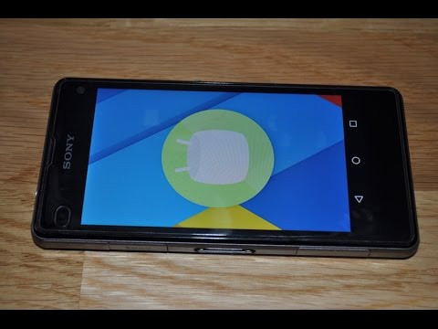 Sony Xperia Z1 Compact With Android 6 0 1 Marshmallow - YT