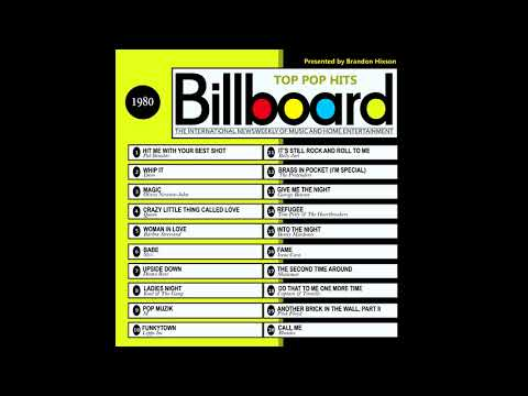 Billboard Top Pop Hits  1980