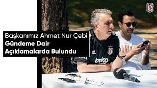 Başkanımız Ahmet Nur Çebi Gündeme Dair Açıklamalarda Bulundu