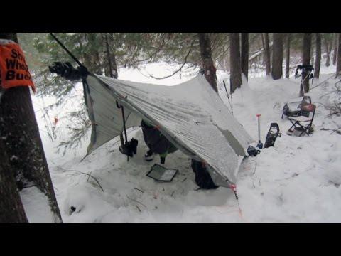Winter Camping on Sioux Hustler Trail BWCA Minnesota - YouTube