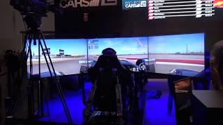 Project Cars 2 with 3 Screens and Dynamic Seat 4K@60fps: Gameplay Live from Gamescom (N-Gamz)