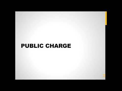 Immigration Updates  Public Charge, Congressional Budget and Litigation News