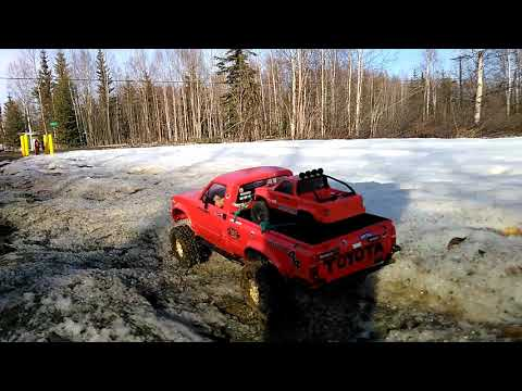 Tf2 RC muddin in North Pole Alaska.