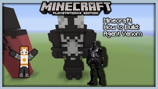 Minecraft How To Build: Agent Venom (Statue)