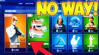 WILD CARD SKIN RETURNS! HOW TO GET WILD CARD SKIN in FORTNITE! (Wild Card in Todays Item Shop)