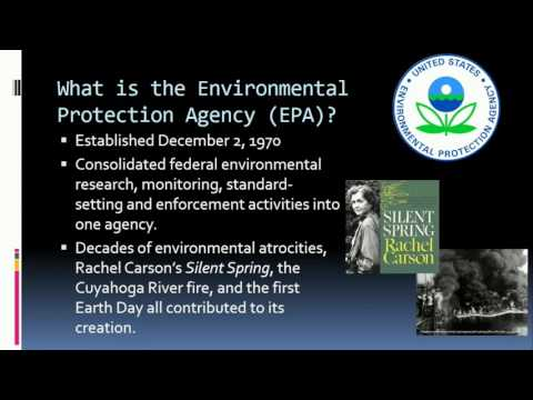The Clean Water Act: A Brief Introduction and History