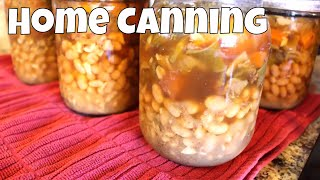 Home Canning Ham & Bean Soup For The Pantry With Linda's Pantry