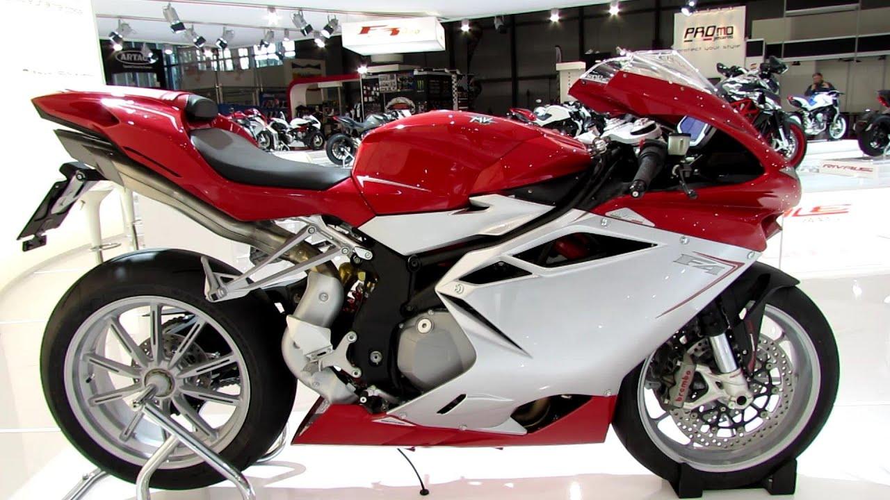 2014 MV Agusta F4 Walkaround - 2013 EICMA Milan Motorcycle Exibition ...