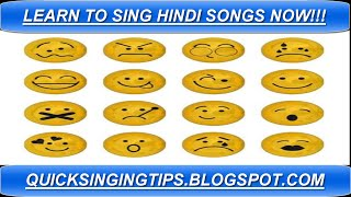 Learn to Sing Hindi Songs - 3 Quick Singing Tips Now