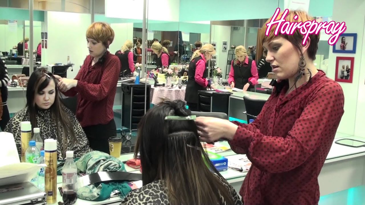 Micro Beading Hair Extension Training Course Ireland Youtube