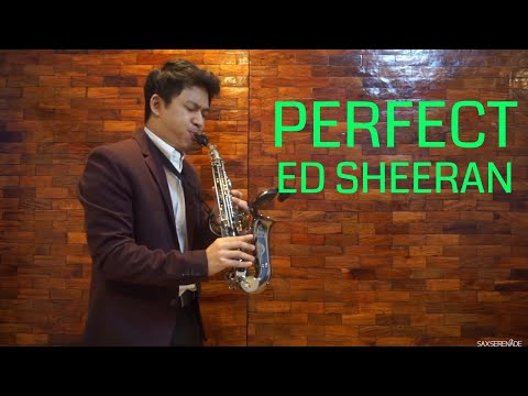 Perfect - Ed Sheeran (Saxophone Cover) Instrumental