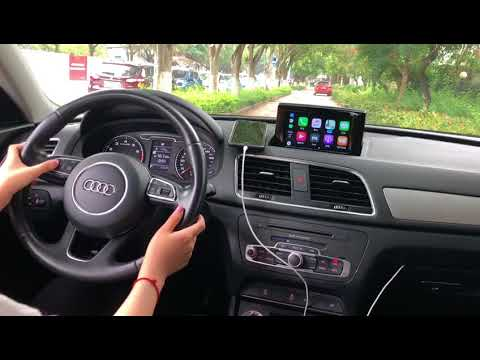 Audi Q3 with Apple CarPlay MMI system