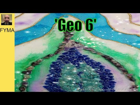How To Make A Resin Geode 'Geo 6'  by Stuart Wimbles