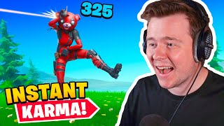 Reacting to the BIGGEST Karma moments in Fortnite History!
