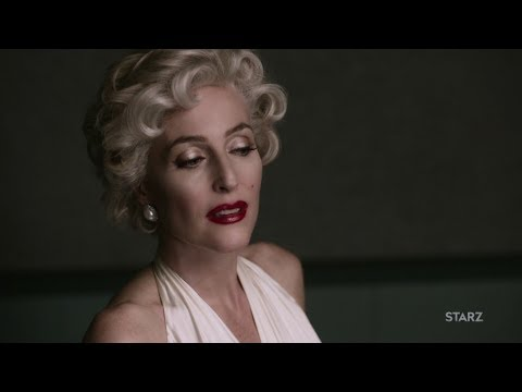 American Gods - Gillian Anderson's Media as Marilyn Monroe