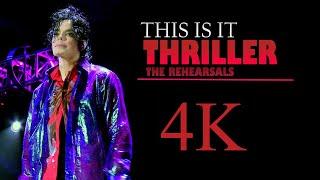 Michael Jackson This Is It | Thriller 4K