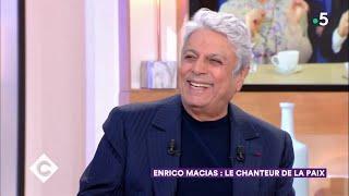 Enrico Macias : le chanteur de la paix - C à Vous - 22/03/2019