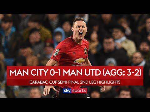 Man Utd win in vain as City through to final | Man City 0-1 Man Utd | Carabao Cup Highlights