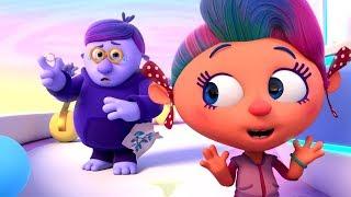 Новые мультики! - Монсики - Блюм великолепный - Мультфильм об эмоциях для детей