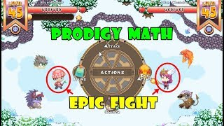 Prodigy Math Game: (ACTIVATE FURNACE 4)   Level 45   Part 28 - Games For Childrens