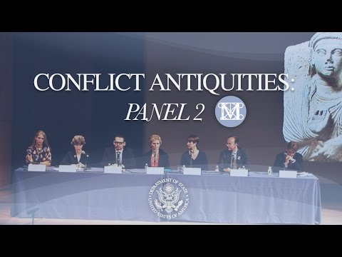 Panel 2 Conflict Antiquities