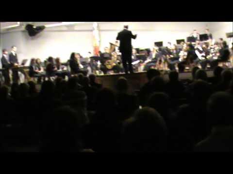 La banda Juvenil de la Unión Musical de Agost interpretando Marlows Theme