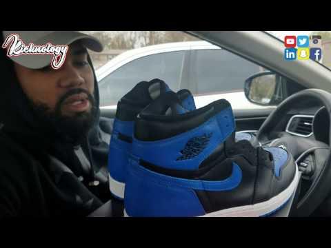 Nike Air Jordan Royal 1 Retro OG  vlog. Quincy Illinois Trip💯